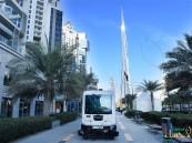 بالصور.. دبي تبدأ التشغيل التجريبي للمركبة الذكية ذاتية القيادة