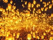 """""""المصابيح الطائرة"""" تلغي رحلات الطيران في تايلند"""