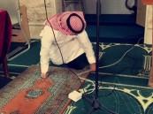 طلاب ثانوية الملك خالد بالهفوف يشاركون في حملة لتنظيف المساجد