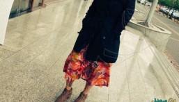 شرطة الرياض تلقي القبض على الفتاة التي ظهرت بدون عباءة !!
