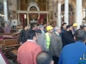 بالفيديو.. مقتل وإصابة أكثر من 50 شخصًا في تفجير كاتدرائية الأقباط بالقاهرة