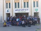 مدرسة عمار بن ياسر تصحب طلابها في زيارة لنادي الفتح #النموذجي