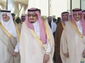 """بالصور.. الملك يدشن مشاريع الـ 160 ملياراً ويخاطب منسوبي """"أرامكو"""": نعتز بكم وبخدمة وطنكم"""