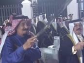 بالصور..  خادم الحرمين الشريفين يشرّف احتفال ملك البحرين بمناسبة زيارته لـ المنامة