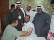 بالصور… 200 متبرع في حملة التبرع بالدم الخامسة بجمعية الرميلة
