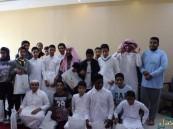 طلاب متوسطة الملك عبدالعزيز في ضيافة مركز دار الخير