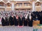"""بالصور.. الملك أمام """"الشورى"""": سنواجه كل مَن يدعو إلى الغلو وسنتجاوز ما نمر به بخطى ثابتة"""