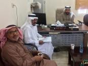 """نجيب """"أبو عظمة""""مرشح الاتحاد السعودي في زيارة لنادي """"هجر"""""""