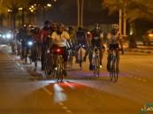 """بالصور.. 50 دراج ينشرون ثقافة """"ركوب الدراجات"""" في مجتمع الأحساء"""