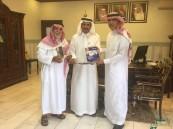 بالصور.. مدير الزراعة يستقبل مدير جمعية المتقاعدين بالاحساء