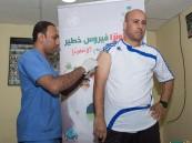 صحة الأحساء تنفذ حملة التطعيم ضد الانفلونزا للاعبي نادي هجر