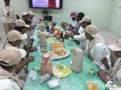 ثانوية الملك خالد بالهفوف تنفذ دورة التقاليد الكشفية