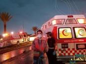 وفاة وإصابة 14 معتمرا أوروبيا على طريق الهجرة باتجاه المدينة المنورة