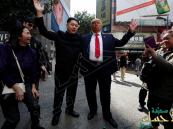 بالصور… ترامب وزعيم كوريا الشمالية يتعانقان في رأس السنة القمرية!