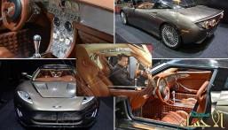"""بالصور… هذه السيارة جذبت أنظار """"ملك الأردن"""" ليجلس بداخلها !!"""