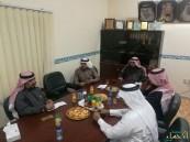 """بالصور… """"جماعي"""" العمران يتفقد مؤسسات المجتمع المدني بالمدينة"""