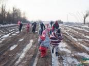 يونيسيف: آلاف الأطفال اللاجئين في خطر جراء الشتاء القارس في أوروبا