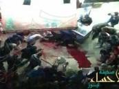 """بالفيديو.. شخص يقتل """"تاجر خمور"""" أمام ابنه شمال """"مصر"""" !"""