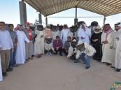 """بالصور… 30 زائر من فريق """"الأسطح الخضراء"""" البحريني في ضيافة الأحساء"""