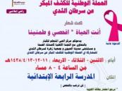 غداً .. انطلاق الحملة الوطنية الخامسة للكشف المبكر لسرطان الثدي