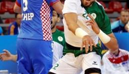 بالصور.. السعودية تخسر بصعوبة أمام كرواتيا في مونديال اليد