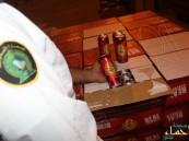 """بالصور.. جمرك البطحاء يحبط تهريب أكثر من 50 ألف علبة """"بيرة بالكحول"""""""