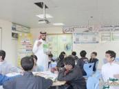 """60 طالباً في ابتدائية """"الأمير سعود بن جلوي"""" يشاركون ببرنامج """"أنا ومحيطي"""""""