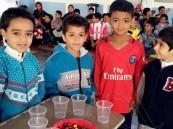 بالصور … ابتدائية ابن مشرّف تقيم مهرجان الألعاب المعززة للصحة