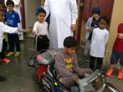 """بالصور… مدرسة في الأحساء تنشر """"الوعي بالنظافة"""" بهذه الطريقة !!"""