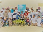 """بالصور.. بلدية وتعليم البطحاء تُشاركان الاحتفاء بأسبوع """" الشجرة حياتنا """""""