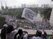 إندونيسيا.. عشرات الآلاف يتظاهرون في «جاكرتا» للمطالبة بحاكم مسلم