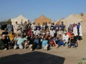 """بالصور.. ابن الأحساء """"الفرحان"""" يتقدم فناني السعودية في """"مخيم النحاتين الدولي"""" بعمان"""