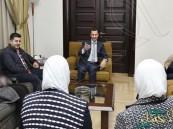 """شاهد.. أول ظهور لبشار الأسد بعد أخبار """"الجلطة الدماغية"""""""