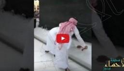 شاهد.. تنظيف الكعبة المشرفة بعد حادثة سكب البنزين