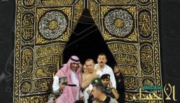 بالصور.. أردوغان يؤدي مناسك العمرة ويدخل الكعبة المشرفة