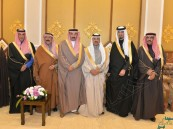 """بالصور.. قبيلة """"الحراجين"""" تحتفل بزواج ابنها """"عبدالعزيز"""" بحضور الأمير """"عبدالعزيز بن جلوي"""""""