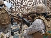 """""""عملية نوعية"""" لقواتنا تقتل كتيبة من 80 انقلابيا حاولوا التسلل من الحدود اليمنية"""