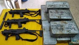 بالصور.. إحباط محاولات زرع ألغام أرضية وتهريب أسلحة ومخدرات على حدود المملكة