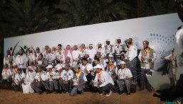 """مشاركة فاعلة لـ""""خلاّد"""" الثانوية في مهرجان التربية الكشفية بالمدينة المنورة"""