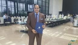 """الدكتور """"حسام سعد"""" يتوج بجائزة """"راشد"""" للبحث العلمي في الإمارات"""