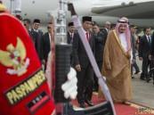 خادم الحرمين يعقد اجتماعاً ثنائياً مع الرئيس الإندونيسي