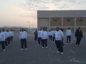 تدريب مراقبي المسجد النبوي عسكرياً