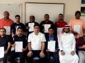 دورة منهجية اكاديميات كرة القدم في نادي حي بن جلوي