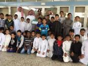 """بالصور.. ابتدائية """"بن مشرف"""" تنفذ محاضرة عن """"السلامة العامة"""" لطلابها"""