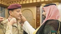 الأمير محمد بن سلمان يقلد قائد القوات البرية رتبته الجديدة