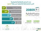 """""""الشؤون البلدية"""" تصدر 20 ألف رخصة إنشائية ومهنية إلكترونياً"""