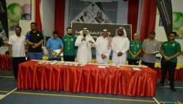 """بالصور.. """"الهيئة العامة للرياضة"""" تطلق برنامج تحدي المدارس بتعليم الأحساء"""
