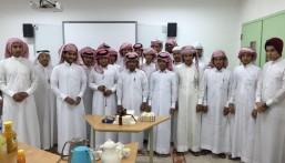 """إدارة وطلاب ثانوية الحرمين يحتفون بعودة """" الصيعري """" بعد فترة علاج"""
