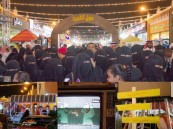 """بالصور ووسط حشد كبير .. ختام رائع لكرنفال """"سوق الطيبين"""" بأسواق القرية"""