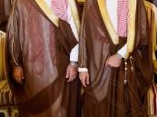 """بحضور الأمير عبدالعزيز بن محمد .. """"العرجي"""" تحتفل بزفاف أبنائها """"منصور"""" و """"سعيد"""""""
